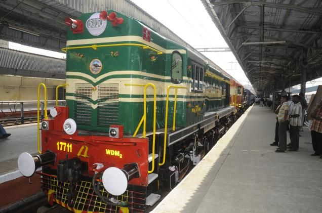 With the amalgamation of and Southern Mahratta Railway, South Indian Railway and Mysore State Railway, the establishment of Southern Railways had done.