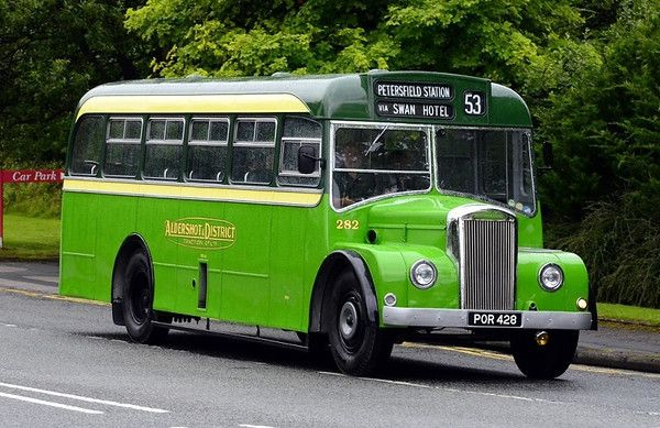 Aldershot & District - Strachan bodied Dennis Falcon P5