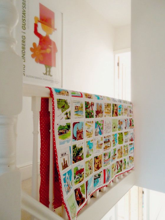 modflowers: teatowel quilt commission