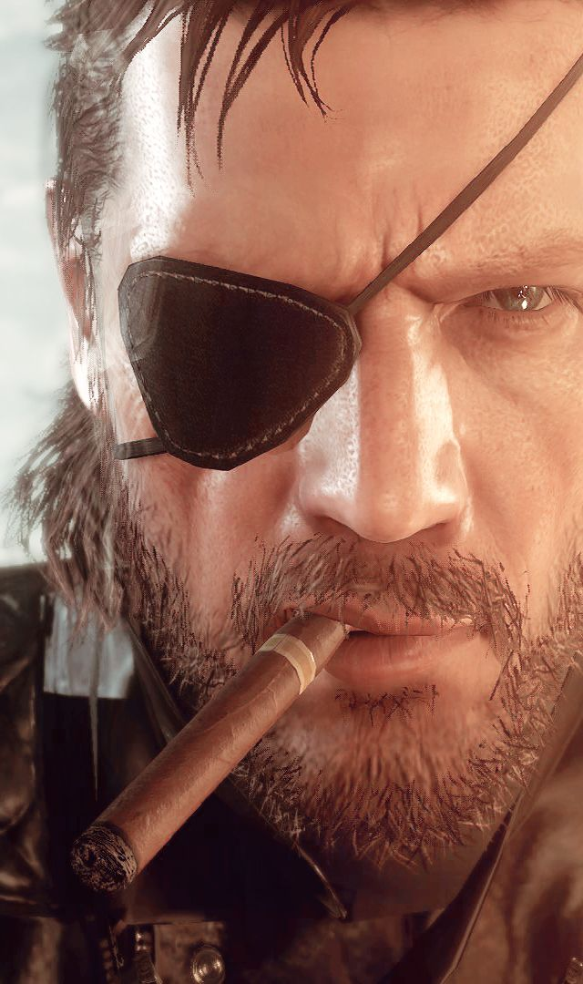 Metal Gear Solid Phantom Pain V: Big Boss
