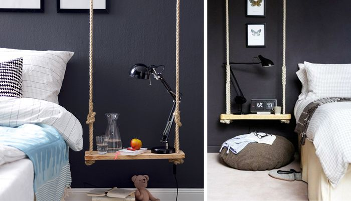 table de nuit originale inspiration la table de nuit. Black Bedroom Furniture Sets. Home Design Ideas