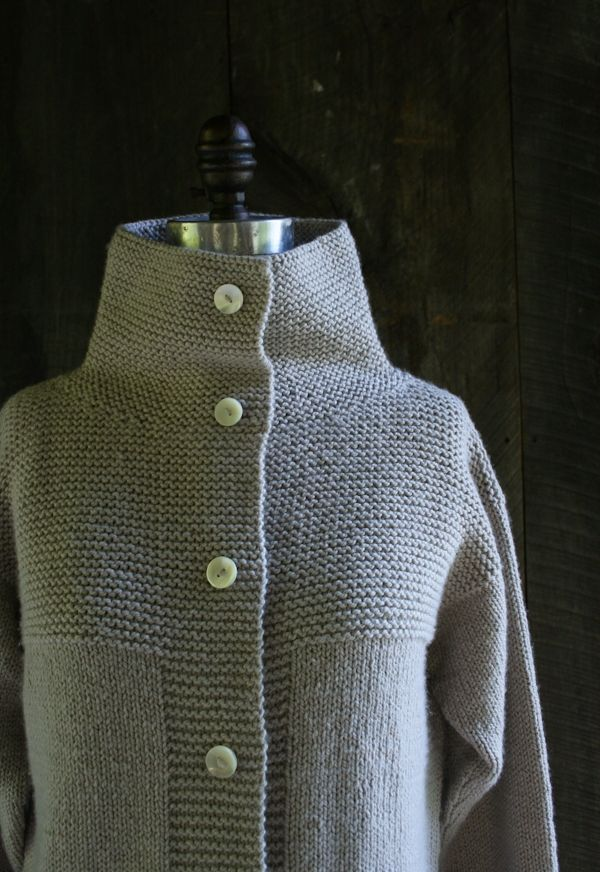 Free gorgeous knit vest pattern. Purl Soho Coat/Vest. It will keep you warm like nobody's business.