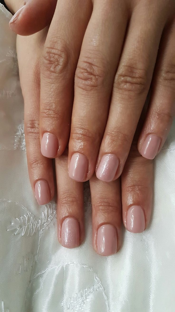 Nude gelpolish