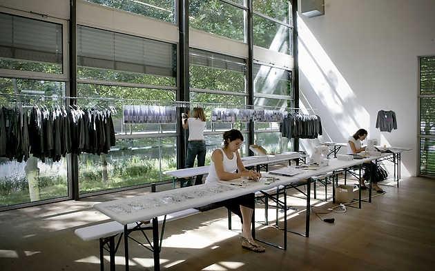 Het atelier van Claudia Linders in Museum De Paviljoens waar Collection Dust (2009) werd geproduceerd © Gert Jan van Rooij, Museum De Paviljoens
