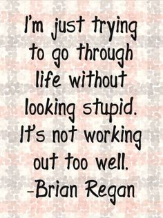 I love Brian Regan!  He speaks my language.