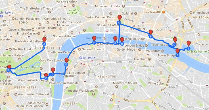Want to do all the London sightseeing, very quickly? Then here's the route map for you. Redditor magulagie has created the ultimate sightseeing walk for tourists in a hurry. Just a shade over…