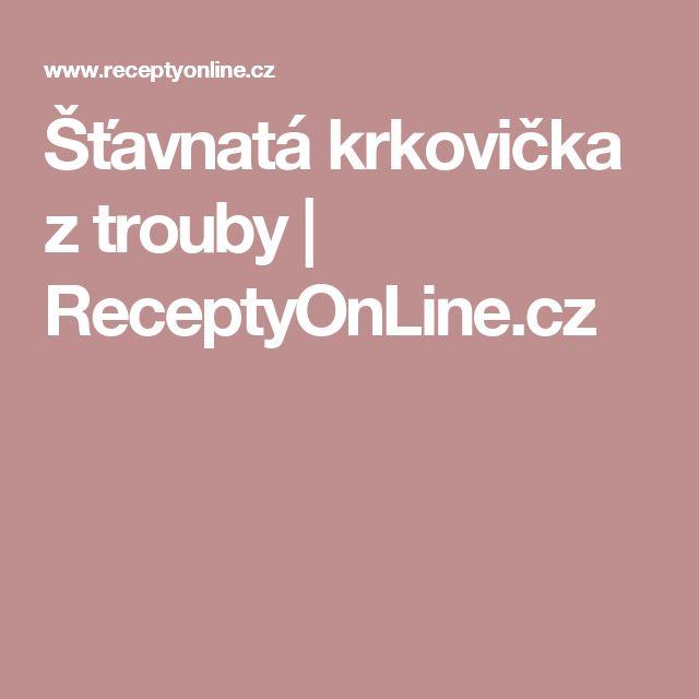 Šťavnatá krkovička z trouby | ReceptyOnLine.cz