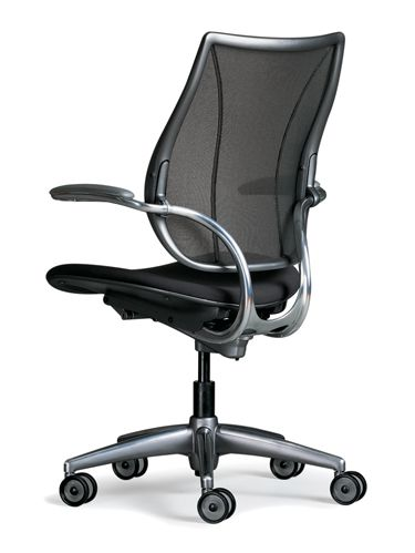 Liberty Task Chair | Ergonomic Seating from Humanscale. Great lumbar support for your home or work office!