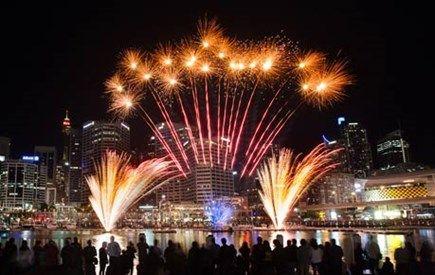 Fireworks - Darling Harbour
