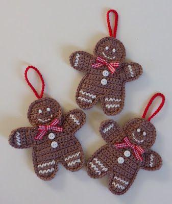 HAAKFEEST: Kersthaaksels 2: peperkoekmannetje
