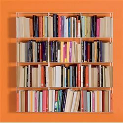 KRIPTONITE wall bookcases KROSSING 100 x 100 cm