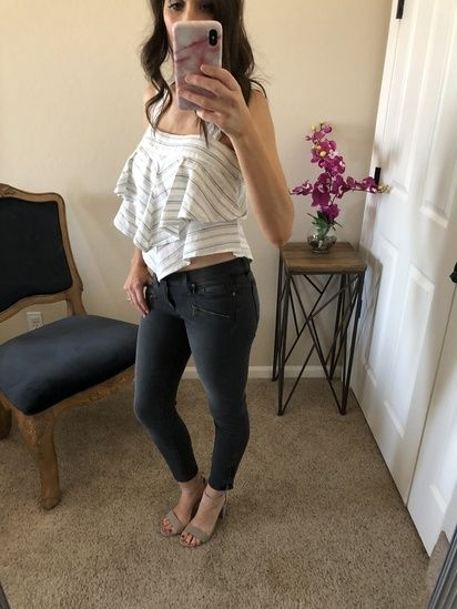 94f250d2490f Date night look- Nordstrom for the win agin! I love this summer crop ...