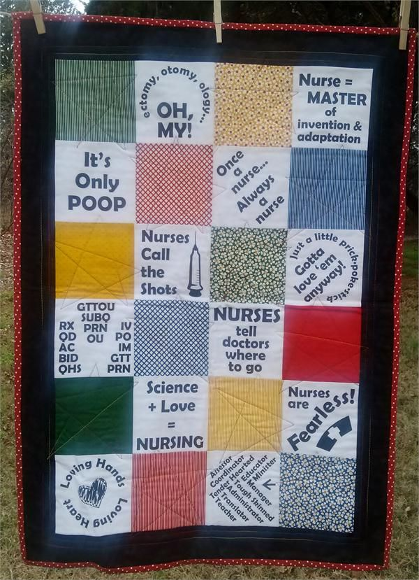 56 best Nurse Quilt images on Pinterest | Nurses, Nursing and ... : quilting fabric with words - Adamdwight.com