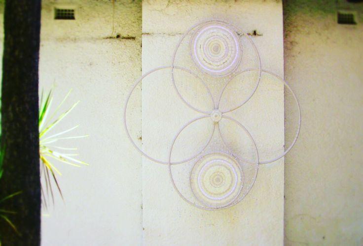 The photon belt<visit us @ thedisconnecthealingspace for more original works>  #weaving #dreamcatcher #madeinmelbourne #wallpiece #wallart #textile #design #interiordesign #localartist #custommade #medicinewheel #stitching #wool #patternmaking #geometry #vscocam #modernart #homedecor #homeinspo #interiorinspiration #shamanism #melbourneartist #artwork #spiritual #consciousness #tapestry #interior #bohemian