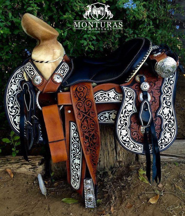 25 best monturas de caballo piteadas images on pinterest for Monturas para caballos