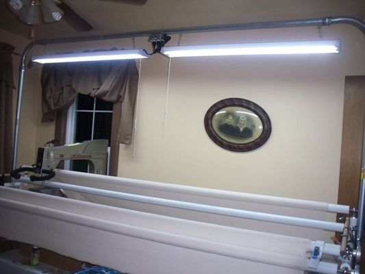 Diy Lights For Above Your Longarm Quilting Longarm
