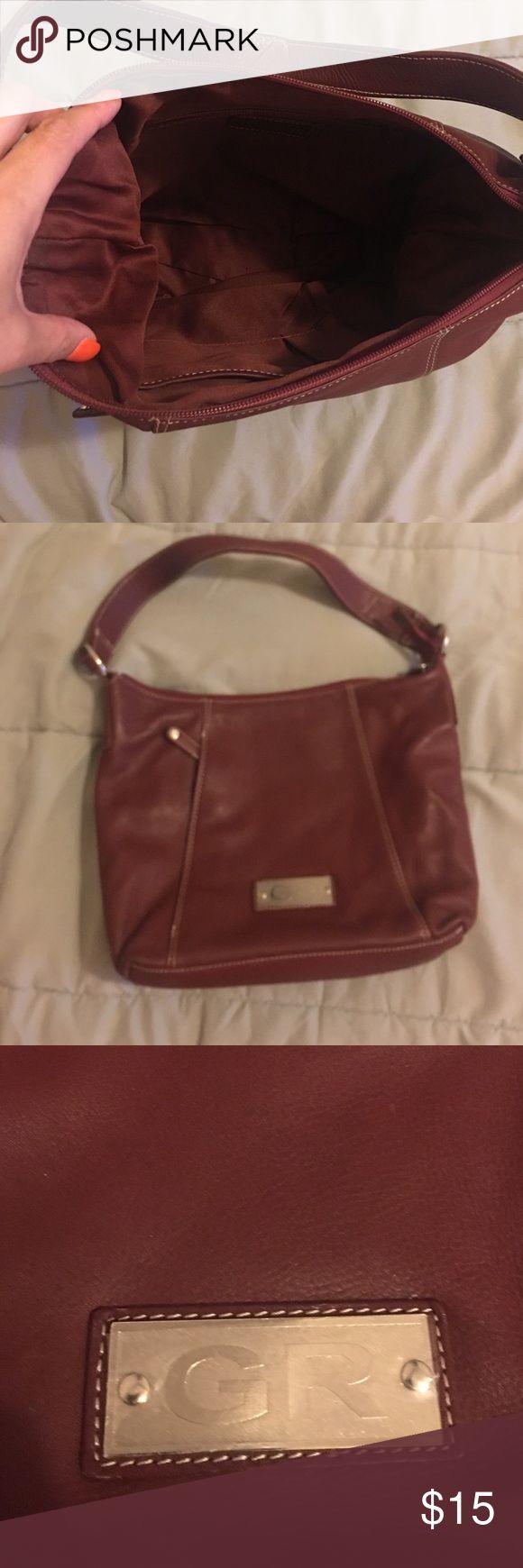 Burgundy color. Medium sized bag. Brand New! Medium sizes bag. Brand new! George Rech Bags Shoulder Bags