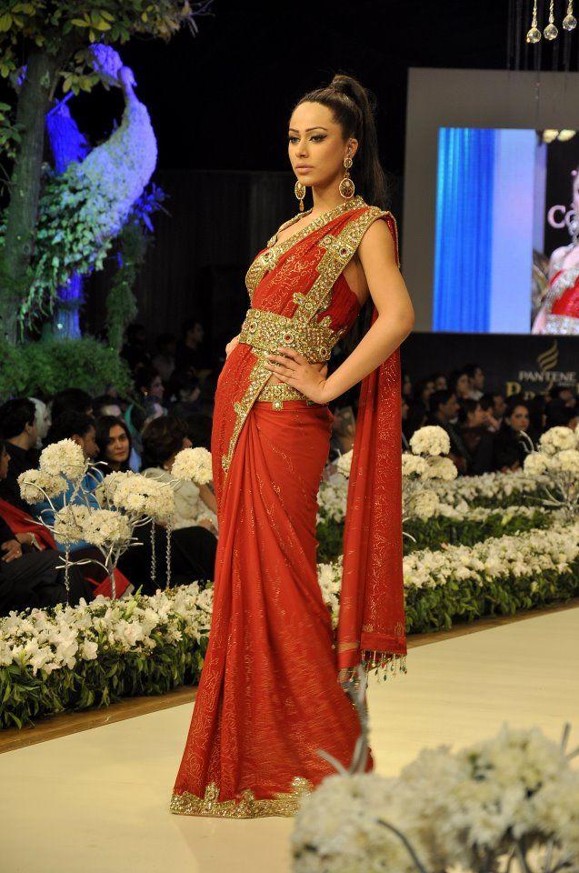 stunning indian saree