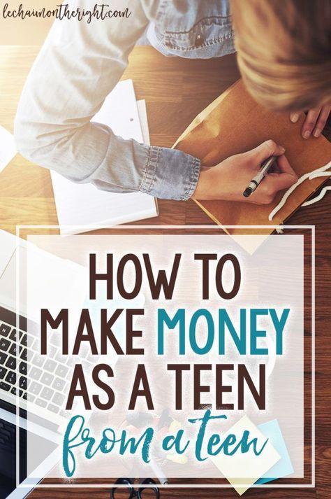 How to Make Money as a Teen (from a teen entrepreneur)