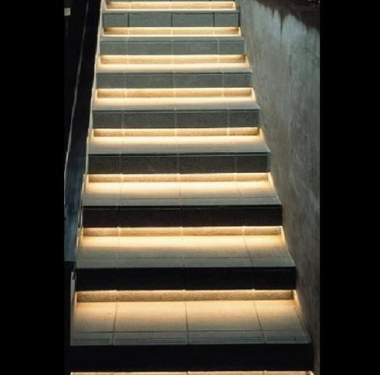 Under The Stairs LED Lighting  Normal Bright Flexible Strips, Warm White By  Inspired LED