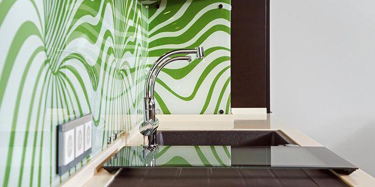 Decorative glass, tint and film, pattern, kitchen splashback, inspiration, renovation