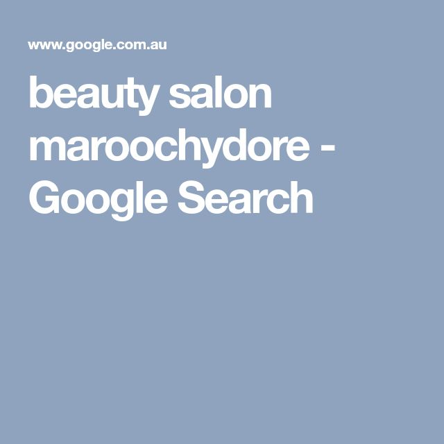 beauty salon maroochydore - Google Search