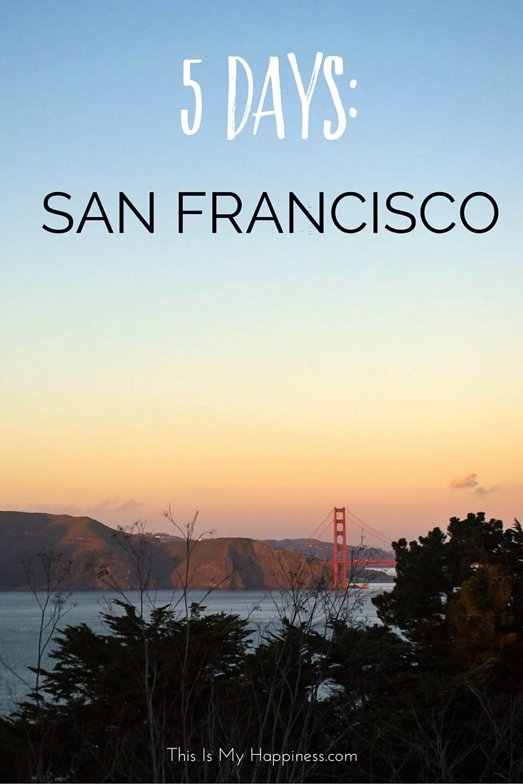 Photos from 5 days in San Francisco: Golden Gate Park, museums, Golden Gate Bridge, and more