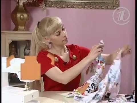074 - Ольга Никишичева. Платье на лето из 4 прямоугольников - YouTube