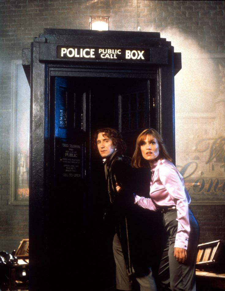 Doctor Who assistants  8th Doctor & Grace