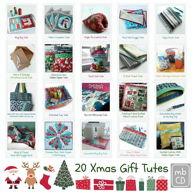 Chris Dodsley @mbCD: 20 Xmas Gift Tutes For Last Minute Hand Makes