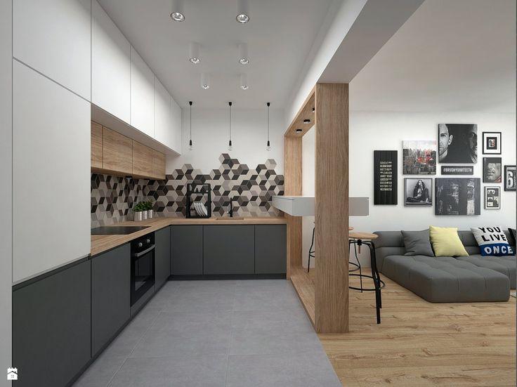 Kuchnia styl Skandynawski - zdjęcie od BIG IDEA studio projektowe - Kuchnia - Styl Skandynawski - BIG IDEA studio projektowe