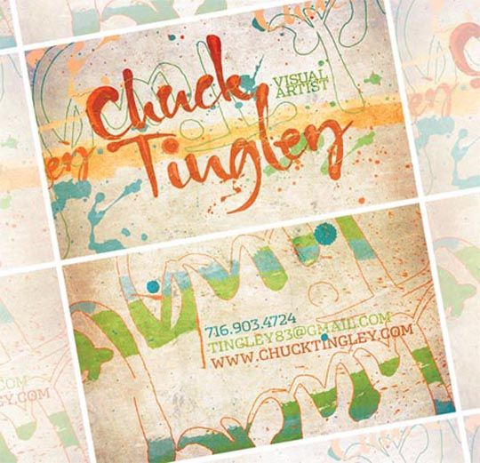 Post image for Chuck Tingley's Designer Business Card