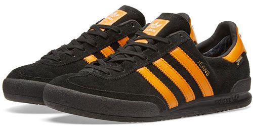 Adidas Jeans GTX - classic 1980s trainers get a Gore-Tex finish
