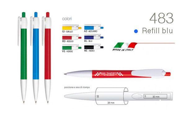 Il gadget intramontabile: penne con logo per fiere, eventi e regali aziendali
