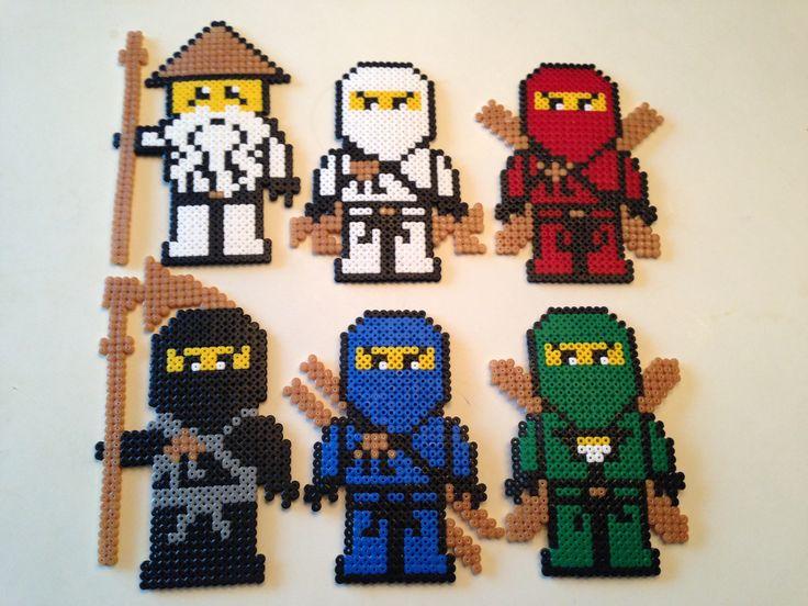 Image result for fuse beads ninjago