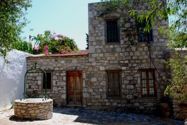 A stone house in Datca /Turkey