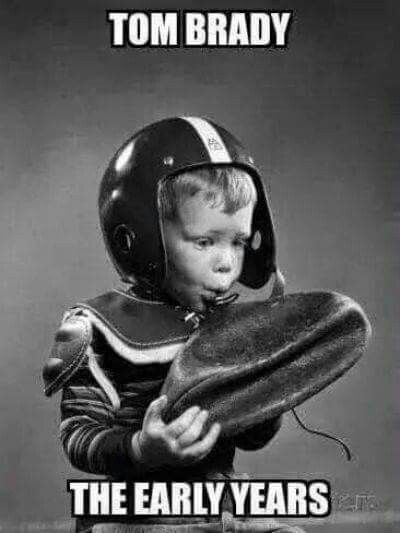 Tom Brady, the early years.
