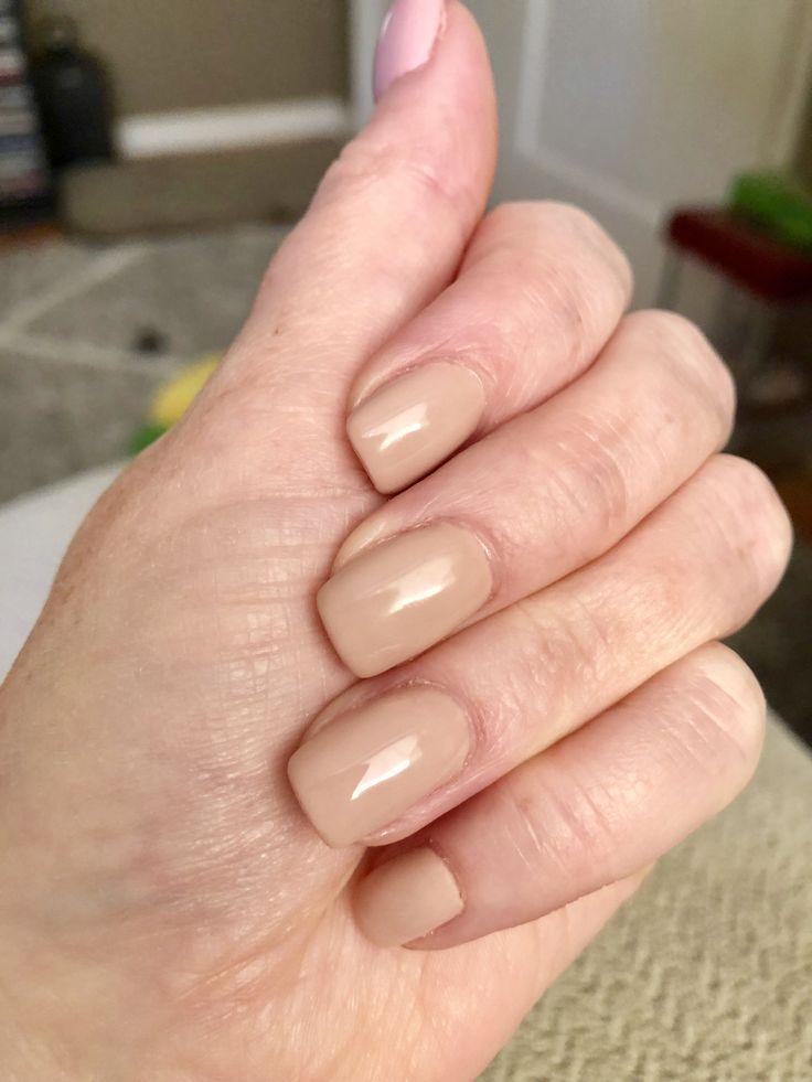 Color 613 Dnd Cinnamon Whip Nail Colors Gel Nails Nails