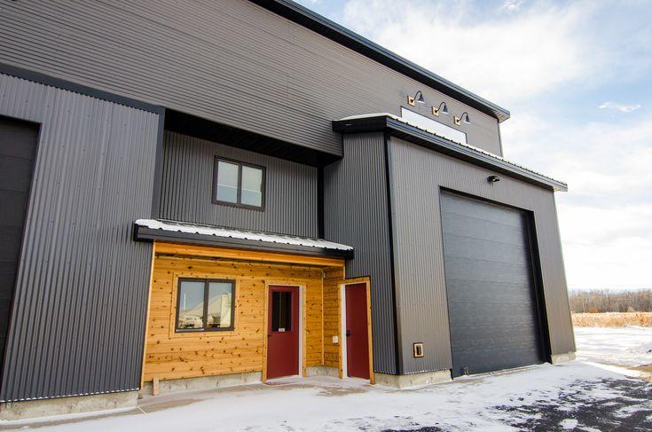 29 best commercial metal structures images on pinterest for Modern metal building