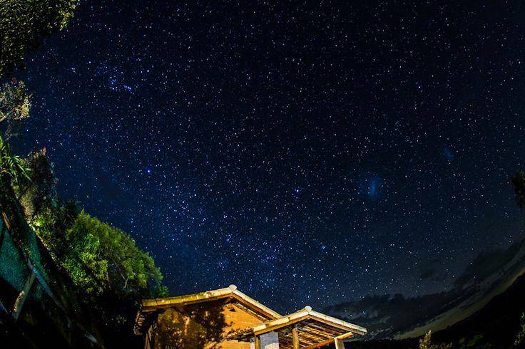 A noite estrelada de Ibitipoca ☆