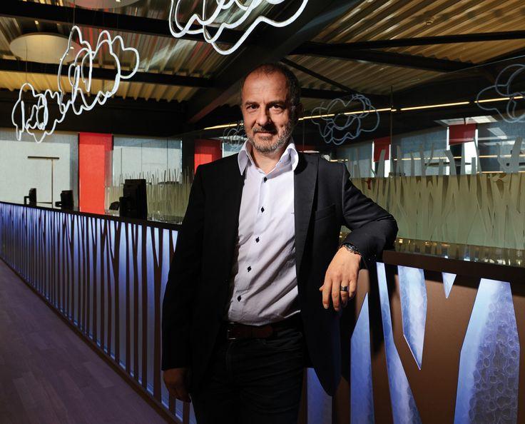 Jean-Bernard Marclay, dirige Aménagement RS Agencement Steiner. © Olivier Evard
