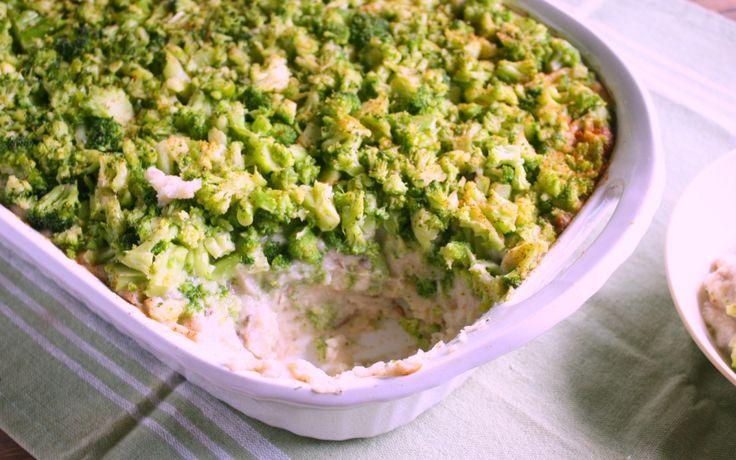 Mashed Potato Casserole With Broccoli and Cauliflower Gravy [Vegan, Gluten-Free]   One Green Planet