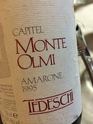 Monte Olmi #amarone 1995 #valpolicella