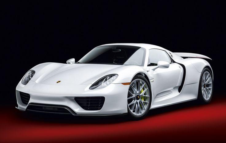 Porsche 918 Spyder Hybrid, 2015, Kalendář Cars 2017