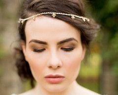 The Marian Gold Browband €152