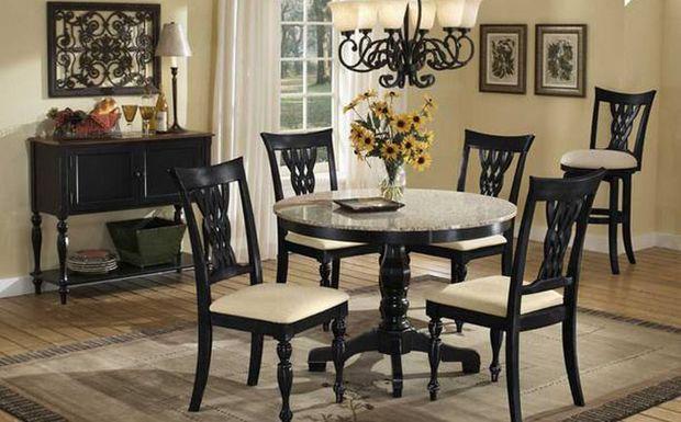 Каким должен быть идеальный стол: красивые гранитные столешницы в интерьере