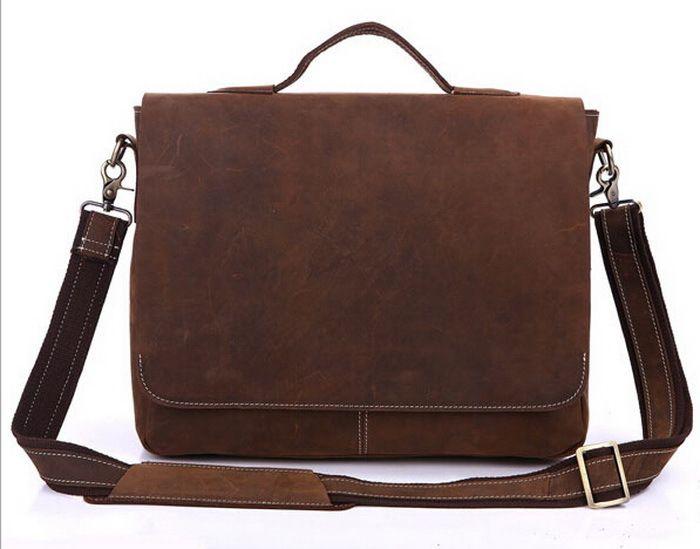 Crazy Horse кожа мужчины сумки для ноутбуков натуральная кожа плеча сумки мужская портфель бизнес мужчины сумки свободного покроя сумка сумка сумка женские сумки сумки сумка мужская Сумки сумки через плечо