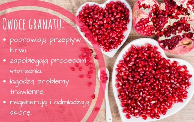 Dlaczego warto jeść granaty? #owoce #fruits #granat #pomegranate #food #zdrowie #witaminy #health