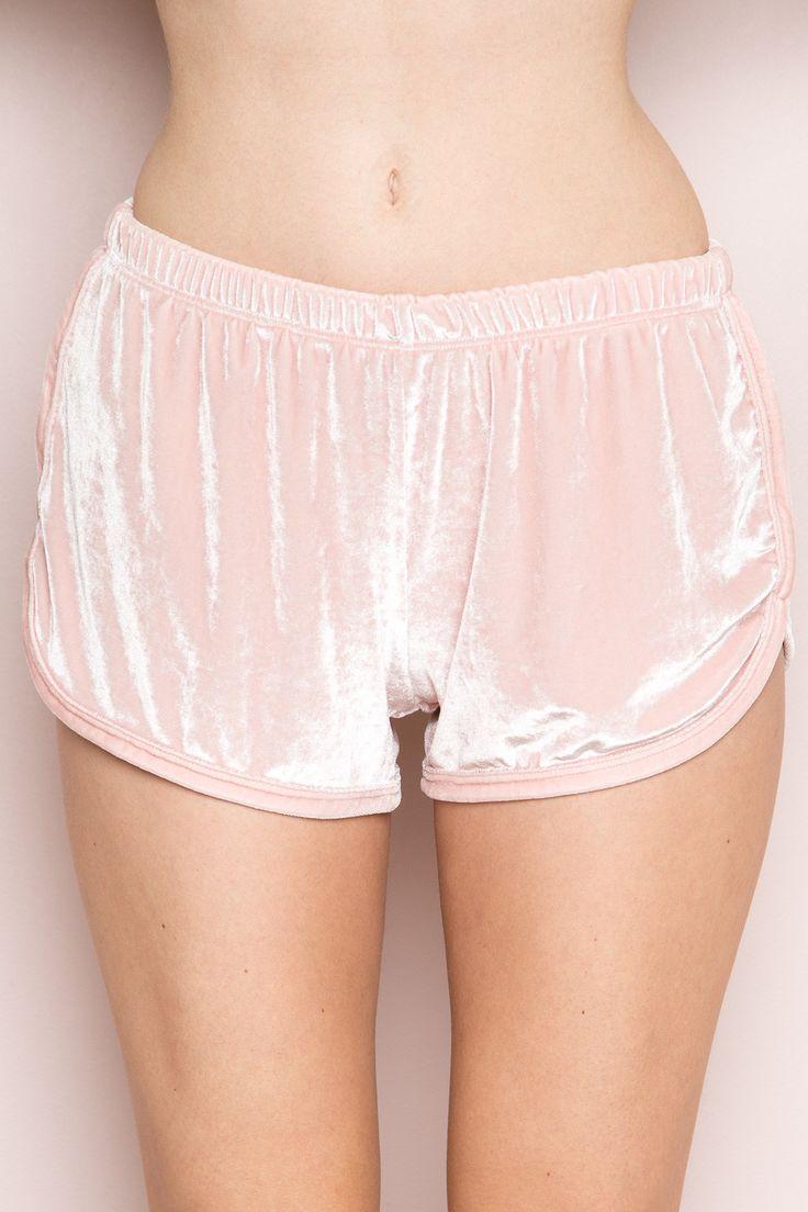 Lisette Velvet Shorts - Silk & Velvet Pieces - Clothing