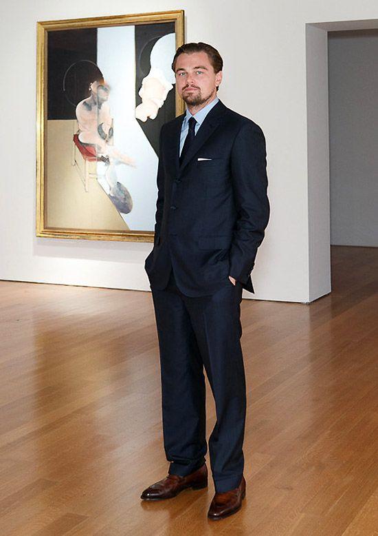 """Le jour de la vente, la fréquentation DiCaprio à porter le """"Brioni"""""""